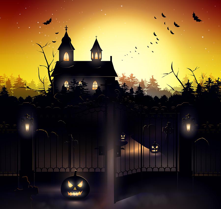 Halloween, halloween magic show
