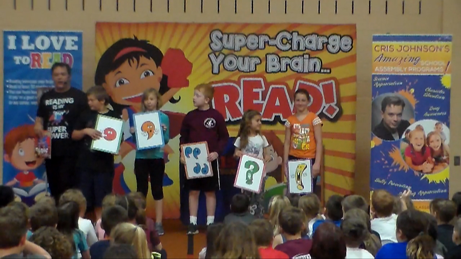 I Love To Read, reading appreciation assembly, PARP assembly