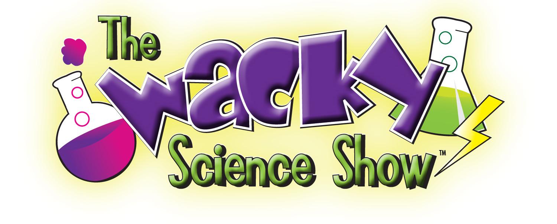 The Wacky Science Show Logo, wacky science show