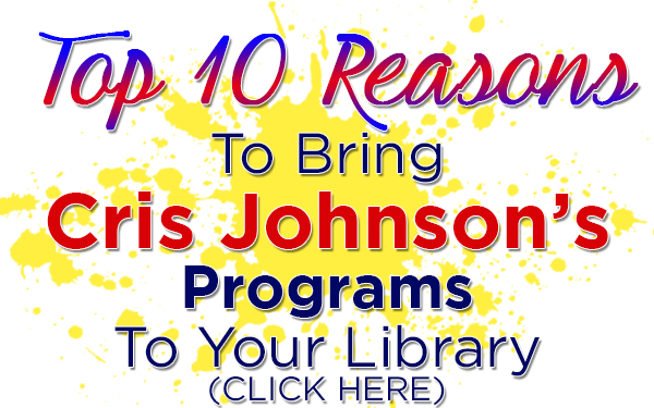 Top 10 Reasons Library, Magic Class, Cris Johnson, Magic Workshop, magic lessons, library show