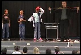 character education assembly, yes I can