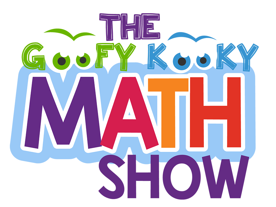 math assembly, Cris Johnson, goofy kooky math show