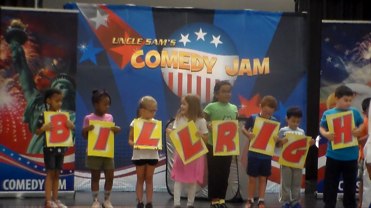 Uncle Sam's Comedy Jam - Amazing School Assembly Programs